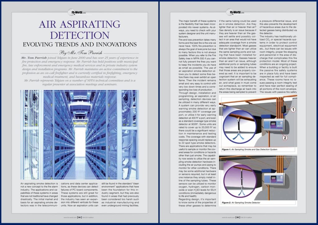 Air Aspirating Detection Evolving Trends and Innovations