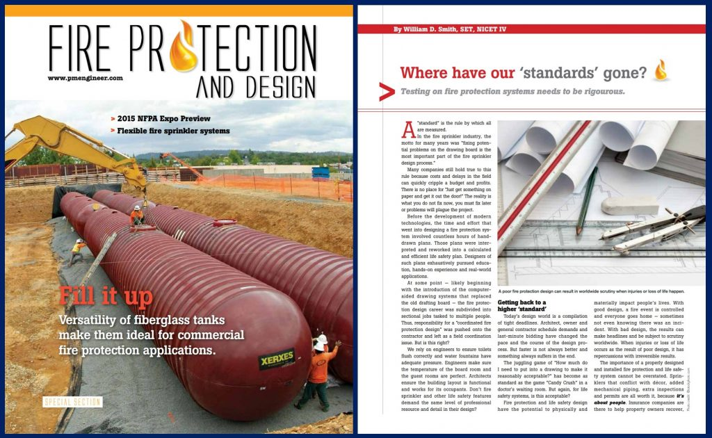 Fire Protection Systems Design Standards Addressed in the Telgian Article Where Have Our Standards Gone?