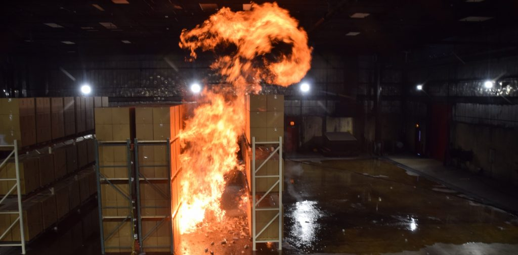 Full-scale fire tests completed by Telgian Engineering