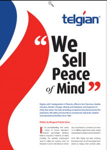 Business in Focus magazine features fire, life safety and security leader Telgian
