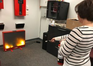 Fire Extinguisher Training: Telgian's Fire Prevention Week
