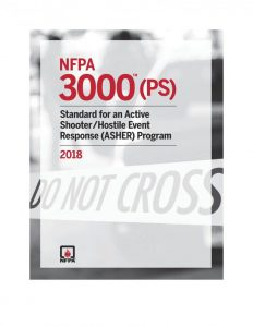 Telgian's Tom Parrish will  NFPA 3000 Meeting as AFAA Representative