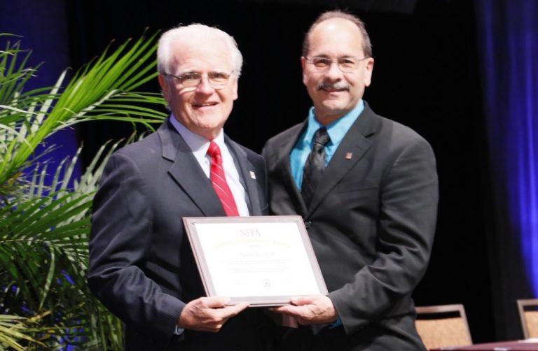 NFPA Special Achievement Award Winner Russ Leavitt