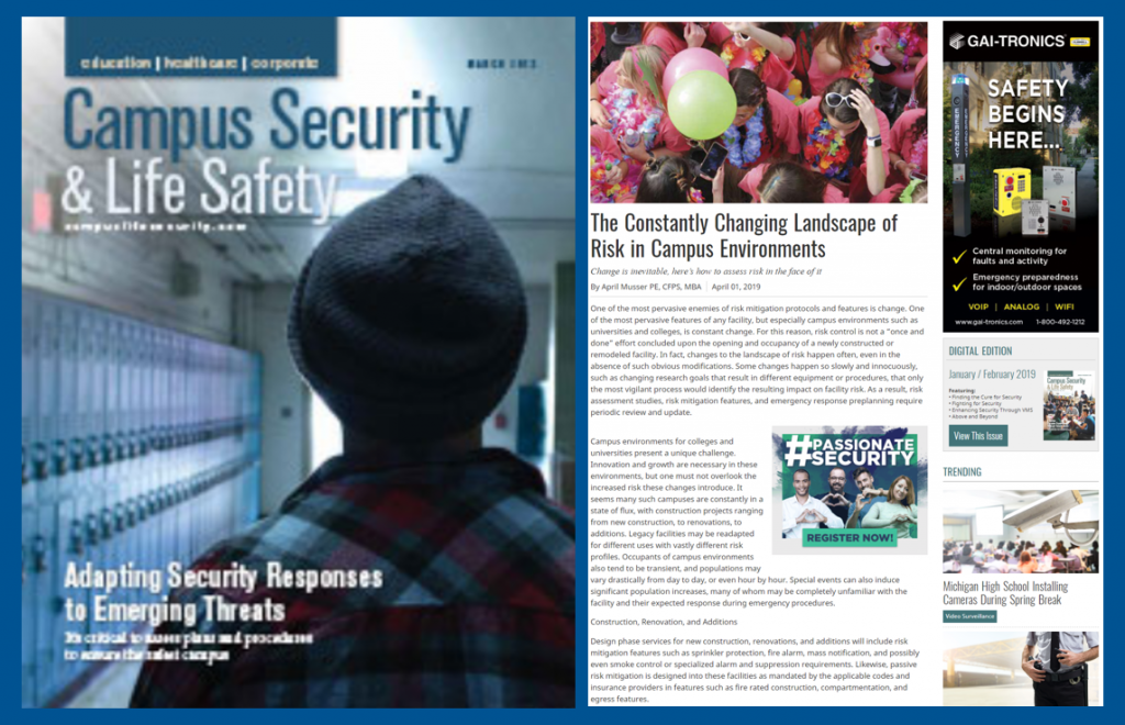 Campus Security & Life Safety showcases Telgian's April Musser