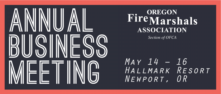 Telgian's Russ Leavitt to Present at the Oregon Fire Marshals Association Annual Business Meeting