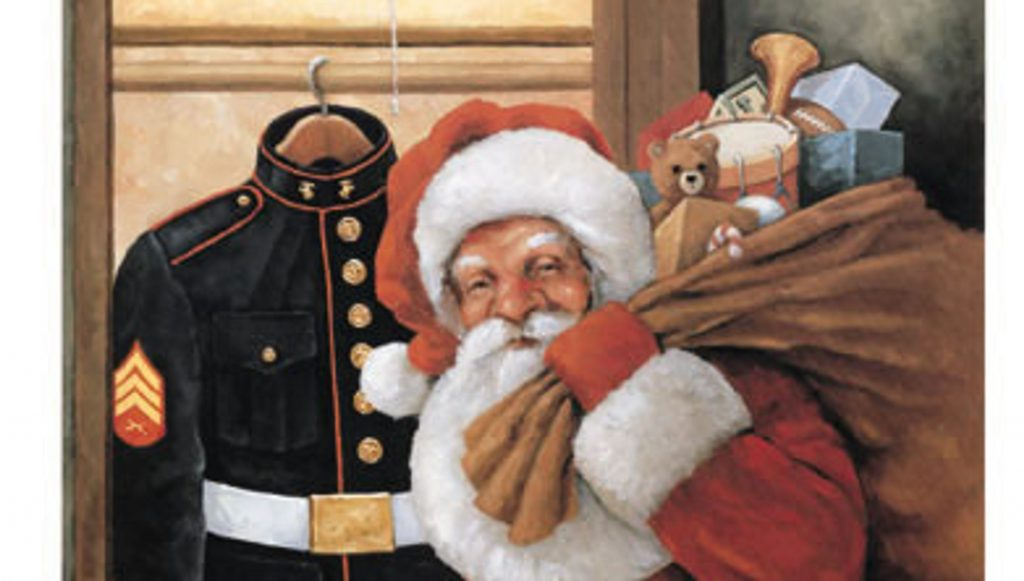 Telgian in the community, annual holiday giving through US Marine Corps Toys for Toys campaign
