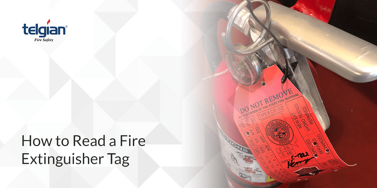 How to Read a Fire Extinguisher Tag Instructions