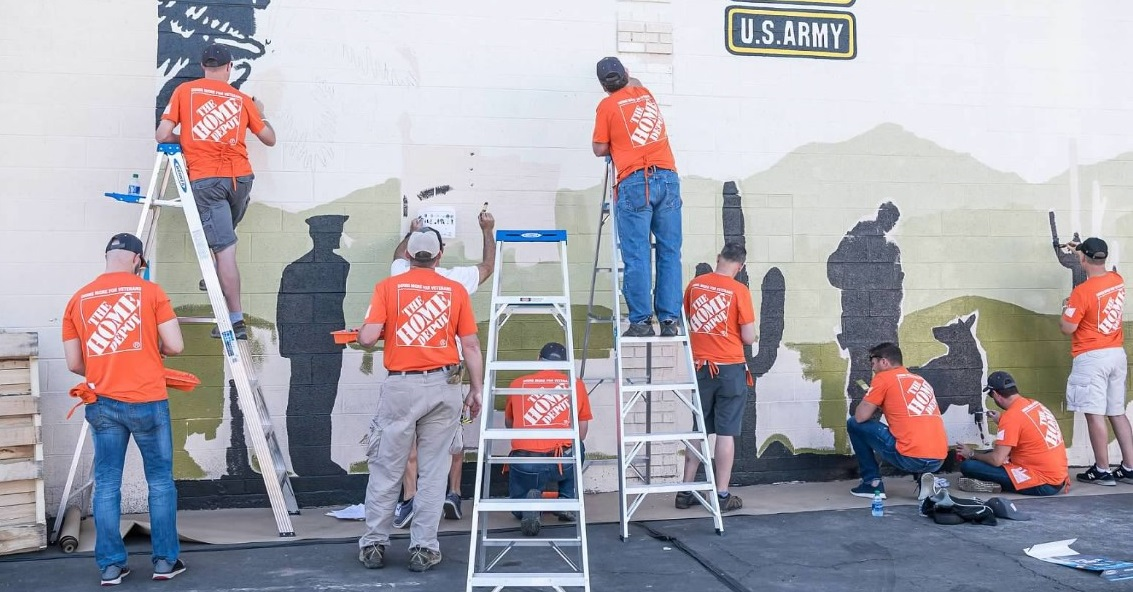 US Vets Inc. facility gets a revamp at the 2019 Building Services & Operations and In-Store Environment Foundation Event