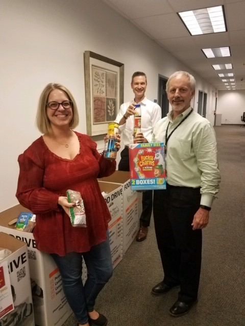 Telgian Holiday Food Drive held to benefit St. Mary's Food Bank