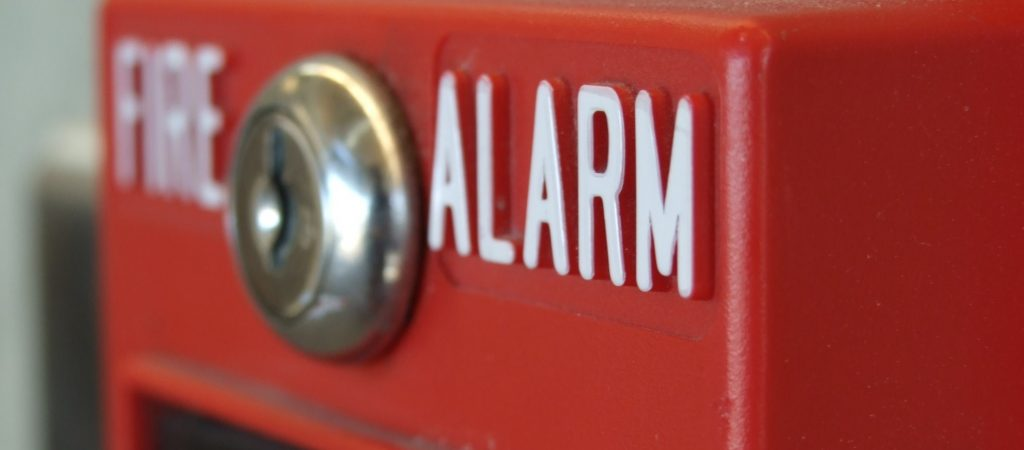 fire alarm and fire sprinkler interconnectivity