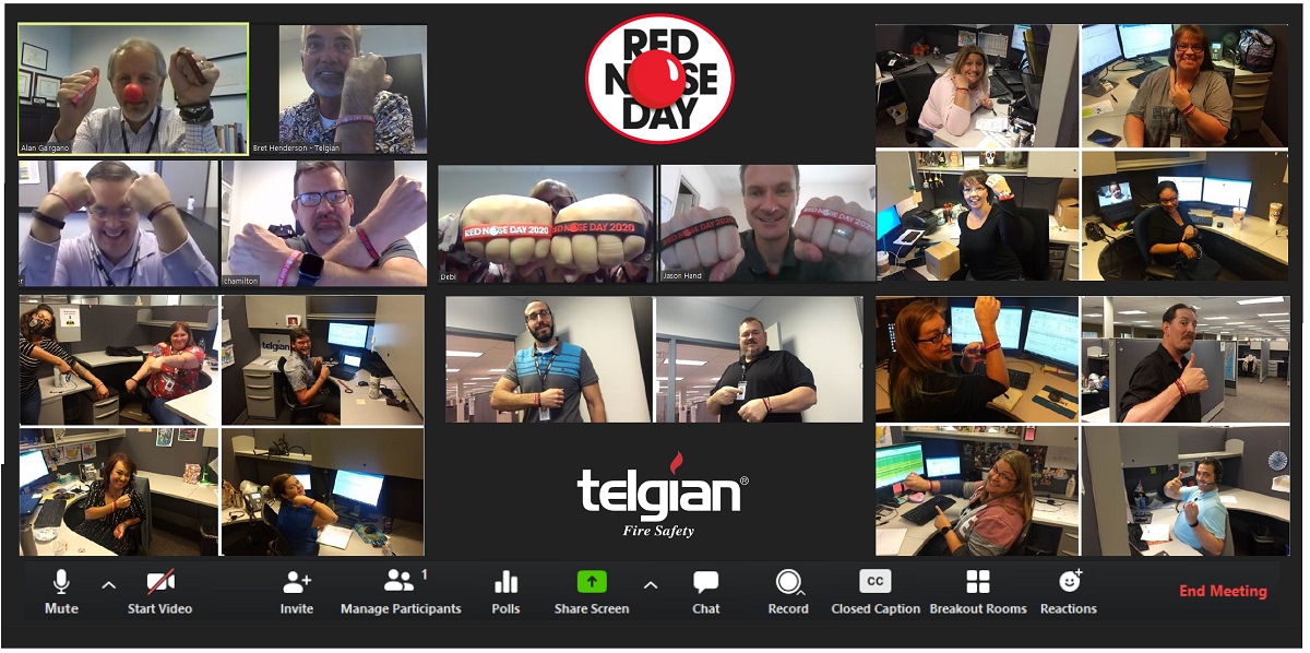 Red Nose Day 2020 at Telgian
