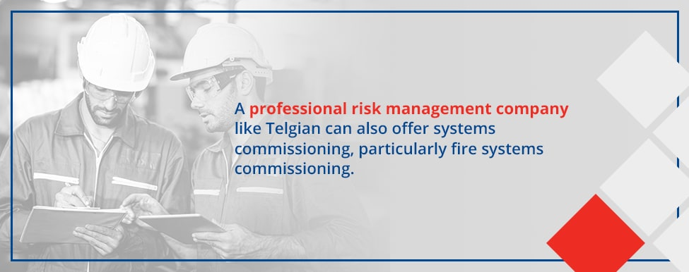 Risk management systems commissioning