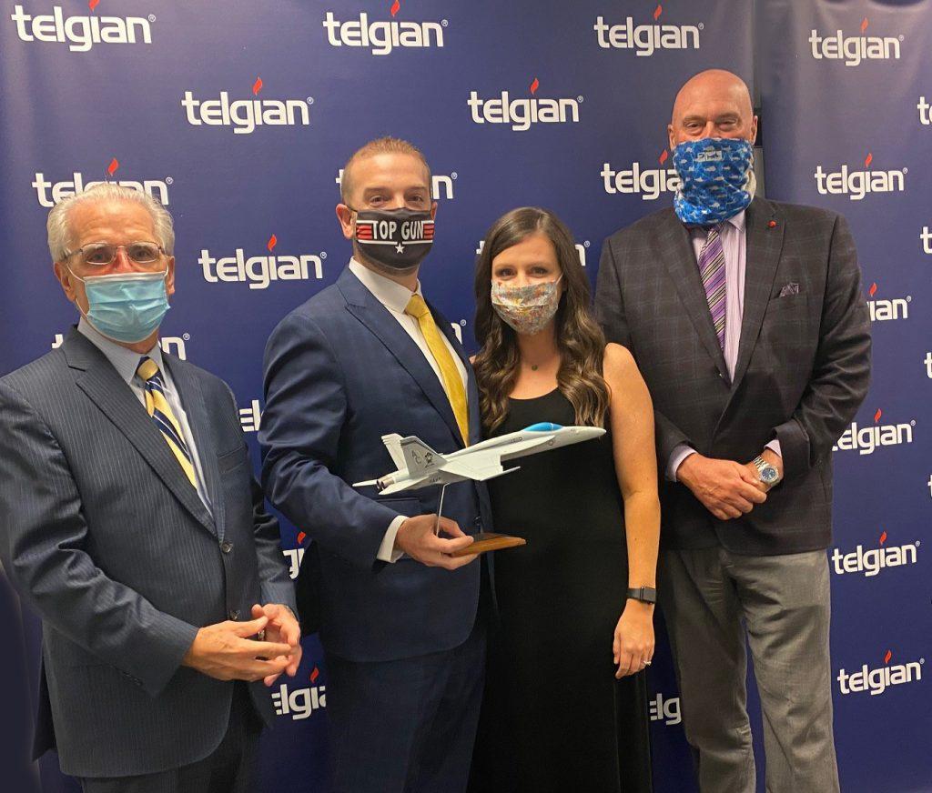Drew Gerard Wins Telgian Engineering & Consulting Top Gun Award