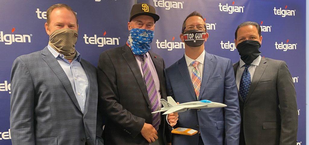 Steve Goyette Wins Annual Telgian Fire Safety Top Gun Award