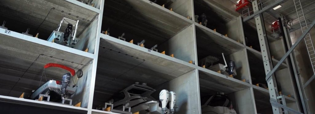 Fire Protection for Automated Boat Storage and Retrieval