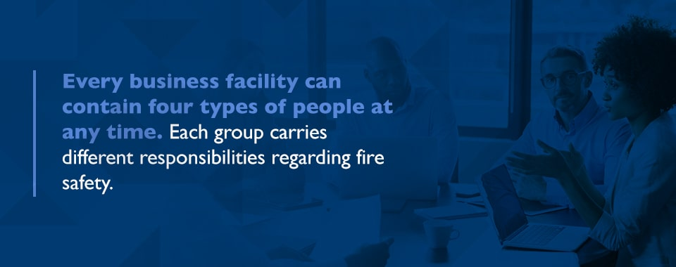 Business fire safety responsibilities