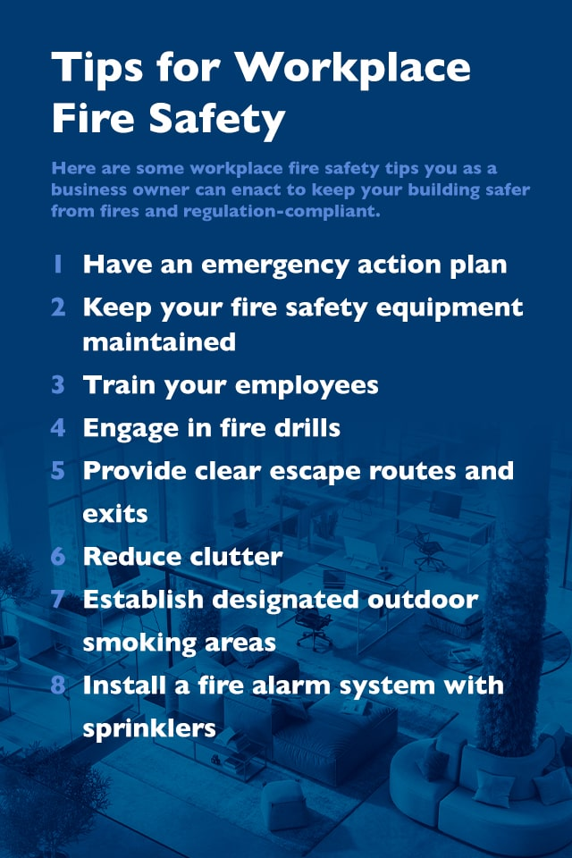 Tips for Workplace Fire Safety