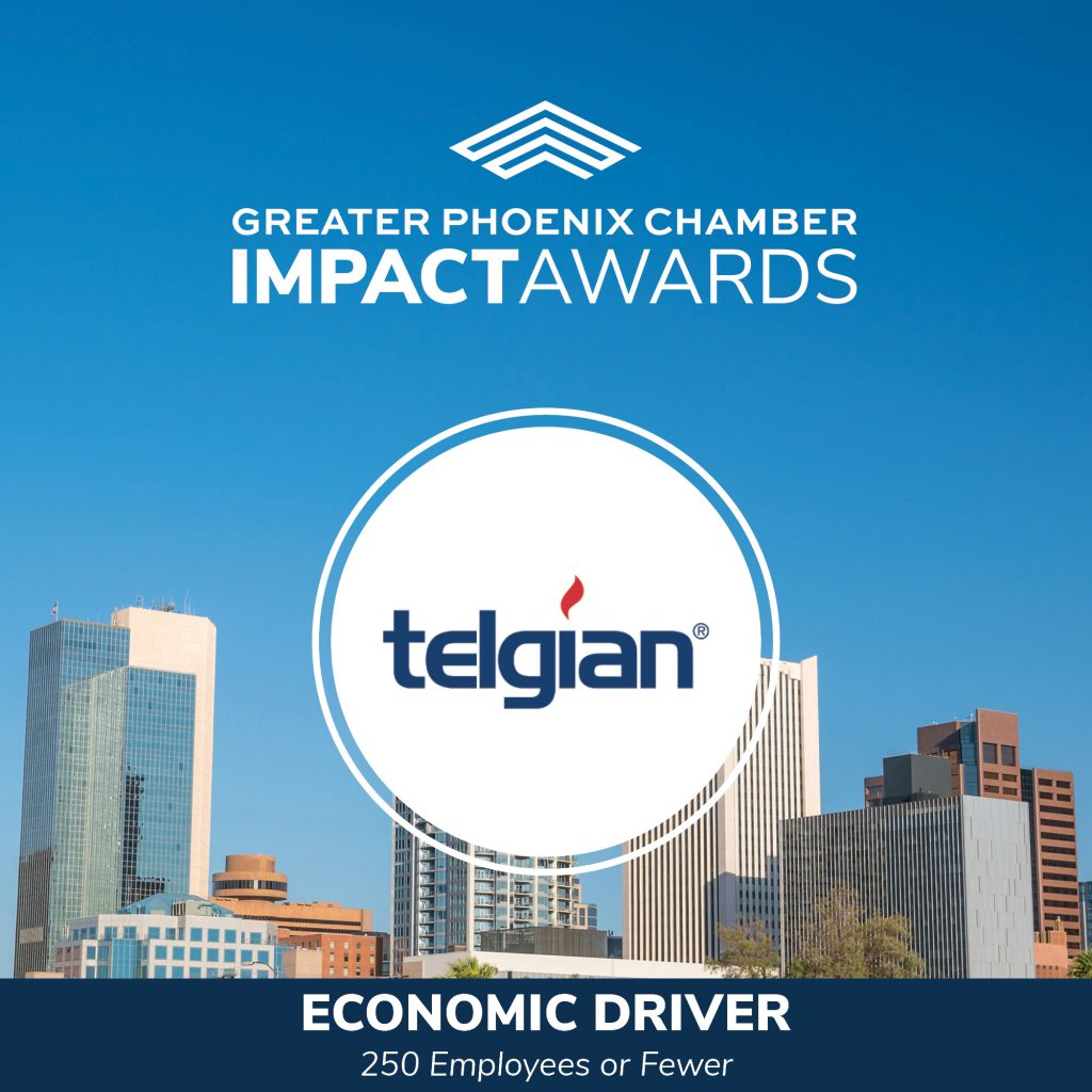 Telgian is 2021 IMPACT Award Recipient in Economic Driver Category