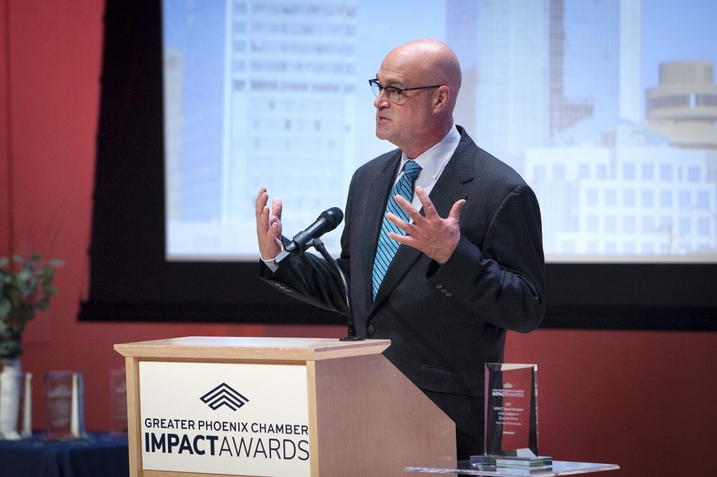 Telgian is 2021 IMPACT Award Recipient in Economic Driver Category, Telgian CEO James Tomes