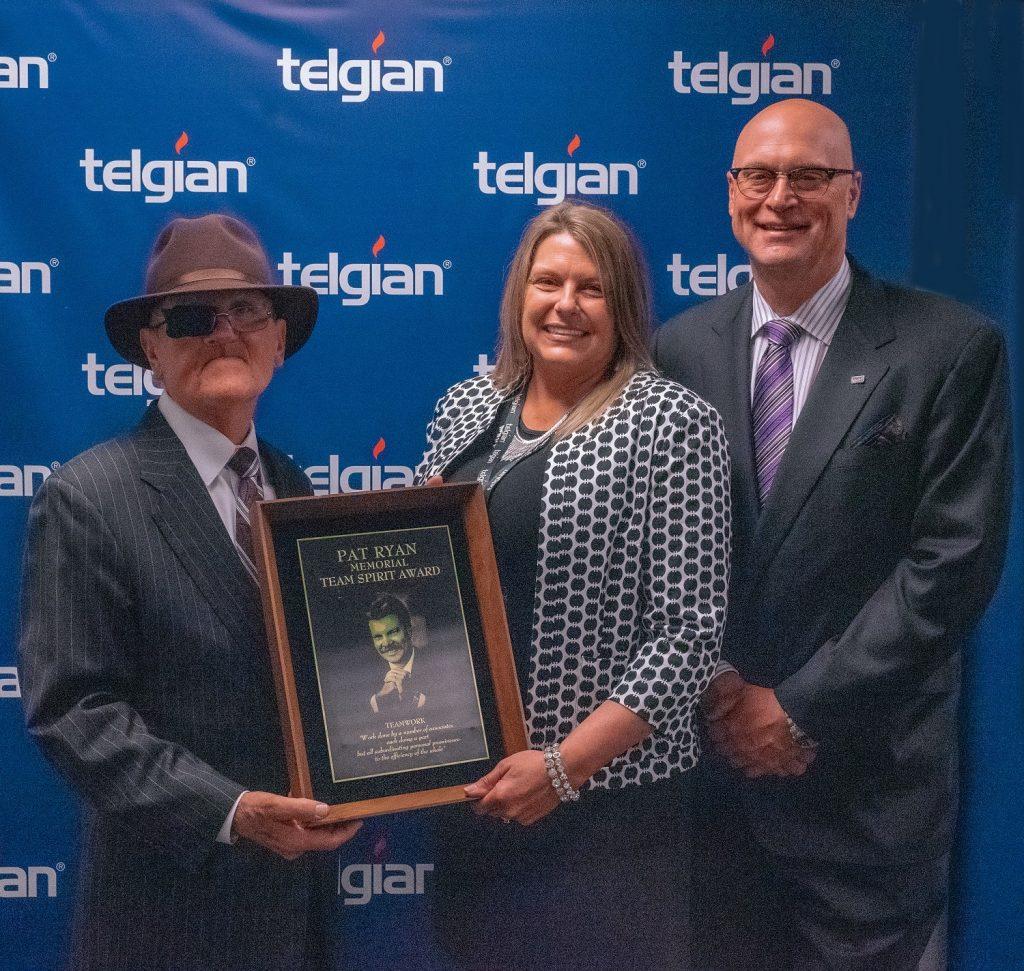 Telgian announces recipient of the Pat Ryan Team Spirit Award, Tammy Mayo
